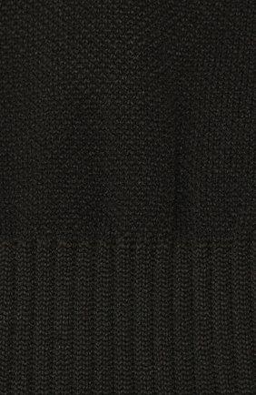 Мужские носки ERMENEGILDO ZEGNA черного цвета, арт. N5V023120 | Фото 2