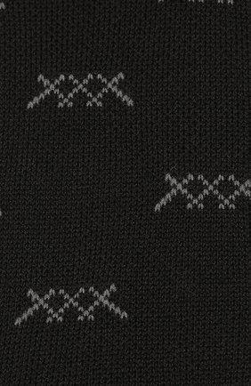 Мужские носки ERMENEGILDO ZEGNA черного цвета, арт. N5V023020 | Фото 2