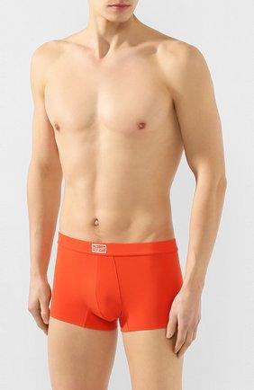 Мужские боксеры ERMENEGILDO ZEGNA оранжевого цвета, арт. N3LC60980 | Фото 2