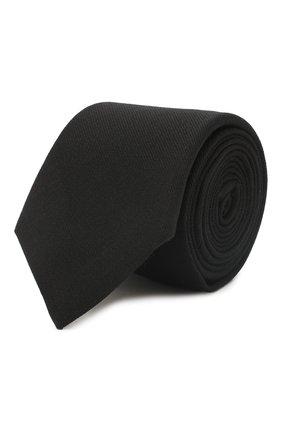 Галстук из смеси шерсти и шелка | Фото №1