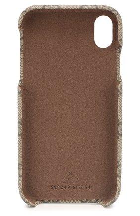 Мужской чехол для  iphone xr GUCCI бежевого цвета, арт. 598249/K5I5T | Фото 2