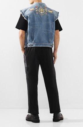 Мужской джинсовый жилет GUCCI синего цвета, арт. 599985/XDA1A | Фото 2