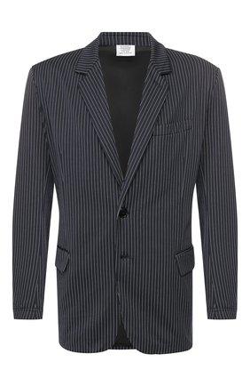 Мужской пиджак VETEMENTS темно-синего цвета, арт. SS20JA142 1328/M   Фото 1