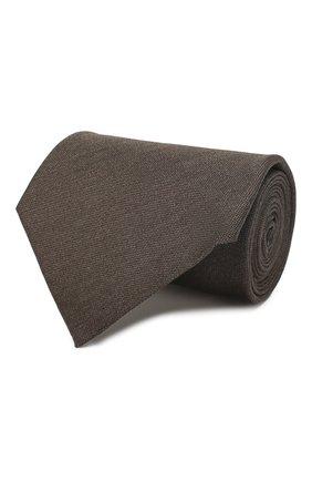 Мужской шелковый галстук TOM FORD коричневого цвета, арт. 7TF05/XTF   Фото 1