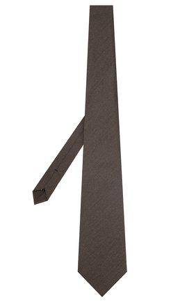 Мужской шелковый галстук TOM FORD коричневого цвета, арт. 7TF05/XTF   Фото 2