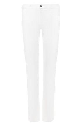 Мужские джинсы CANALI белого цвета, арт. 91500/PT00625 | Фото 1