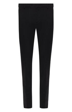 Мужской брюки из смеси шерсти и хлопка LORO PIANA темно-синего цвета, арт. FAL0410 | Фото 1