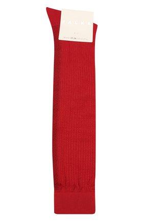 Женские хлопковые гольфы FALKE красного цвета, арт. 46603_19_ | Фото 1