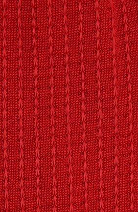 Женские хлопковые гольфы FALKE красного цвета, арт. 46603_19_ | Фото 2