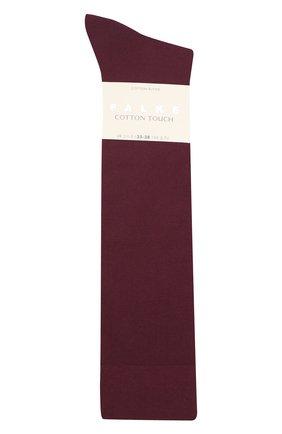 Женские хлопковые гольфы FALKE фиолетового цвета, арт. 47632_19_ | Фото 1