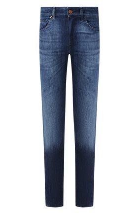 Мужские джинсы BOSS синего цвета, арт. 50421067   Фото 1