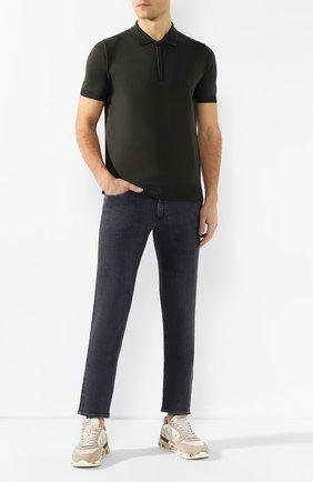 Мужские джинсы BOSS темно-серого цвета, арт. 50420864 | Фото 2