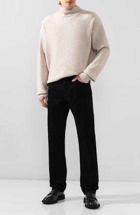 Мужской кашемировый свитер BOTTEGA VENETA светло-серого цвета, арт. 541545/VEX80   Фото 2