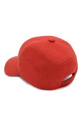 Женская кашемировая бейсболка LORO PIANA красного цвета, арт. FAF4494 | Фото 2