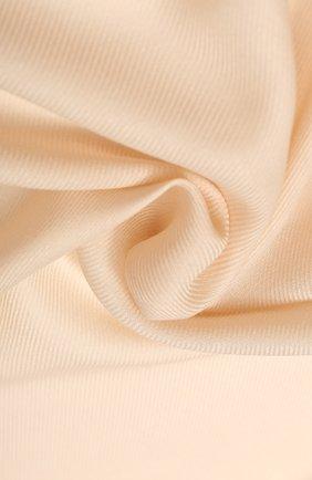 Женская шарф l'infinito из смеси кашемира и шелка LORO PIANA бежевого цвета, арт. FAI0969 | Фото 2