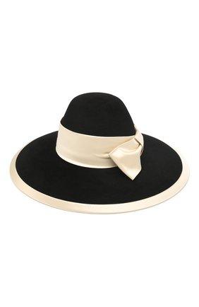 Женская фетровая шляпа GUCCI черного цвета, арт. 603493/3HJ17 | Фото 2