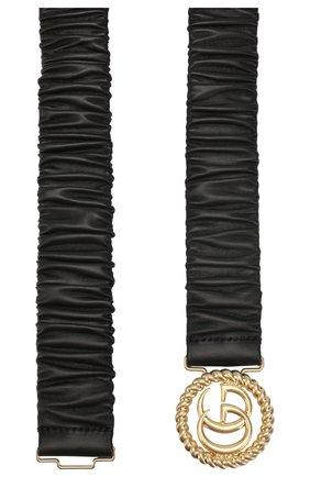 Женский кожаный пояс GUCCI черного цвета, арт. 602074/B340G | Фото 2
