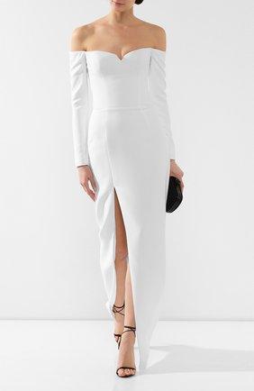 Женское платье-макси RASARIO белого цвета, арт. 0011W9 | Фото 2