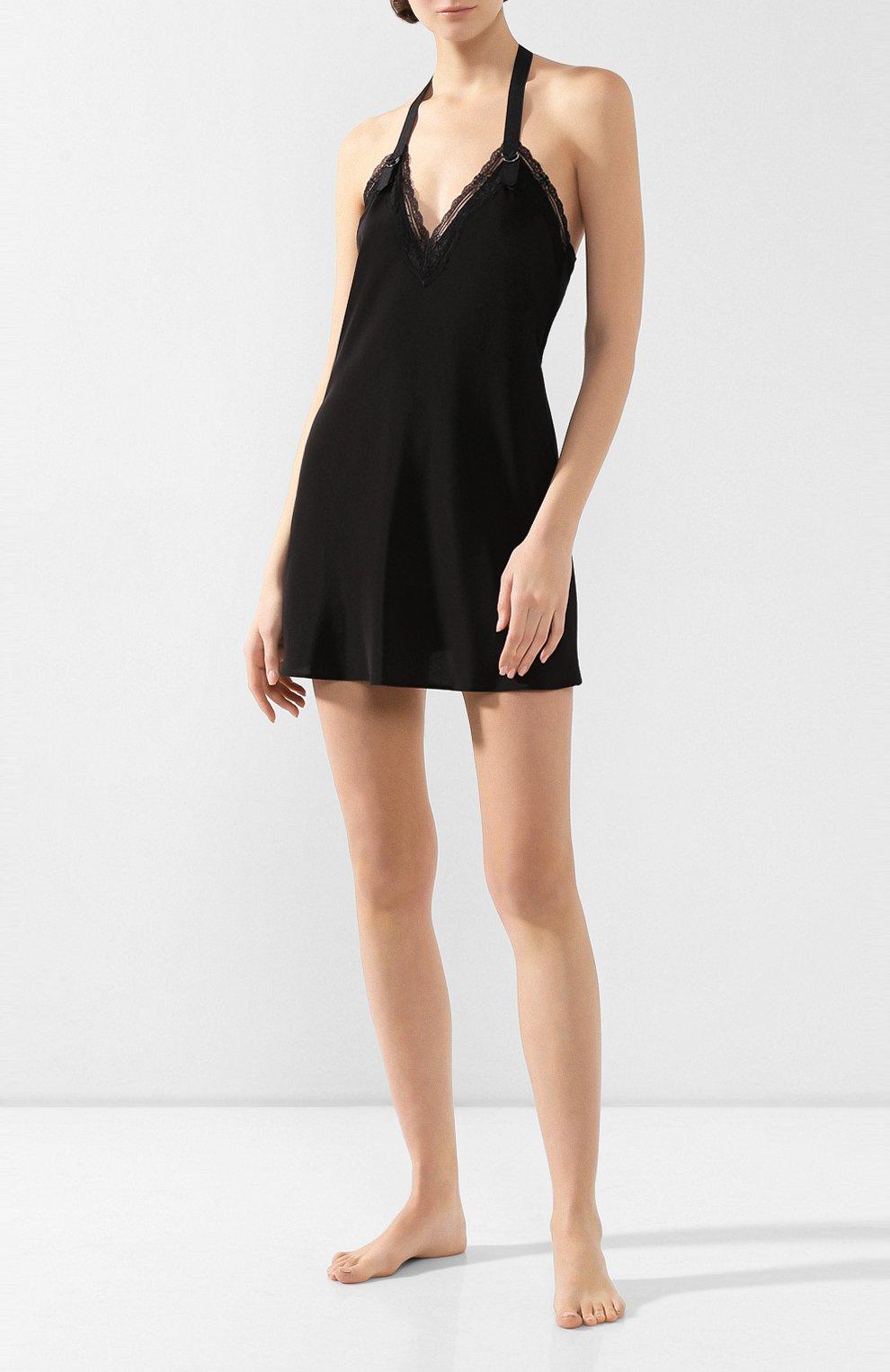 Женская сорочка CHANTAL THOMASS черного цвета, арт. TC44_чер | Фото 2