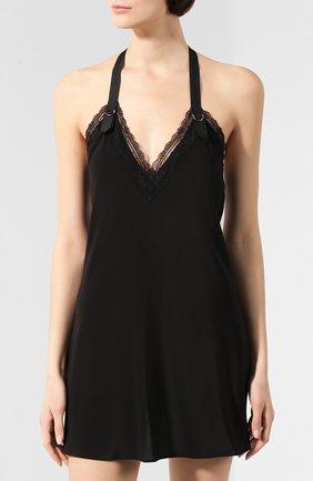 Женская сорочка CHANTAL THOMASS черного цвета, арт. TC44_чер | Фото 3