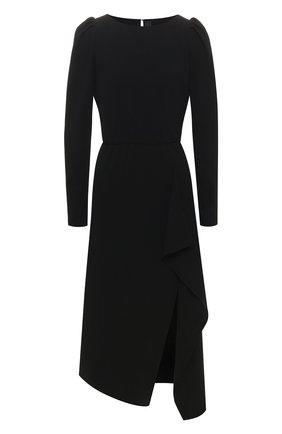 Женское платье POUSTOVIT черного цвета, арт. w20P-5692 | Фото 1