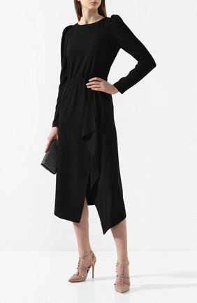 Женское платье POUSTOVIT черного цвета, арт. w20P-5692 | Фото 2