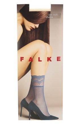 Женские капроновые носки FALKE кремвого цвета, арт. 41410_19_   Фото 1