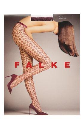 Женские капроновые колготки FALKE фиолетового цвета, арт. 41150_19_ | Фото 1