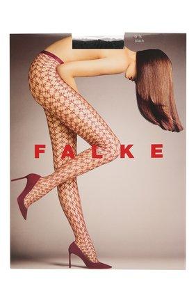 Женские капроновые колготки FALKE черного цвета, арт. 41150_19_ | Фото 1