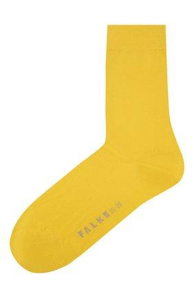 Женские носки FALKE желтого цвета, арт. 47673_19_1_ | Фото 1