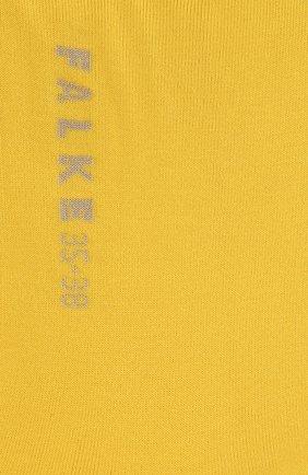 Женские носки FALKE желтого цвета, арт. 47673_19_1_ | Фото 2