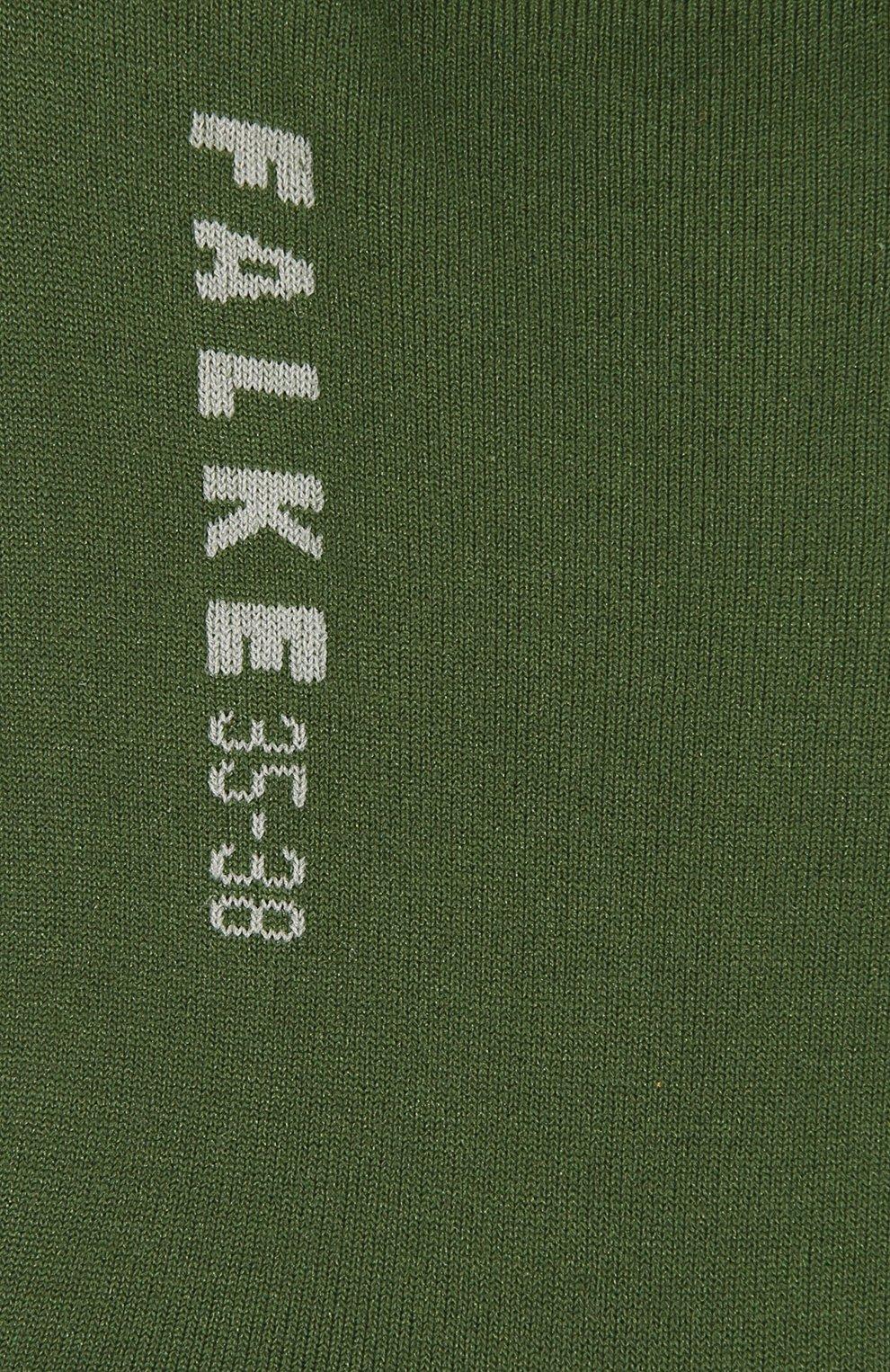 Женские носки FALKE зеленого цвета, арт. 47673_19_1_   Фото 2