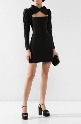 Женское мини-платье RASARIO черного цвета, арт. 0081W9_1 | Фото 2
