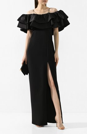 Женское платье-макси RASARIO черного цвета, арт. 0088W9_1 | Фото 2