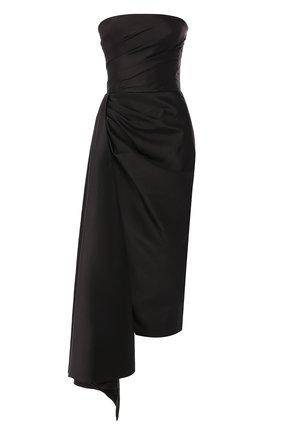 Женское платье с оборкой RASARIO черного цвета, арт. 0087W9_1 | Фото 1