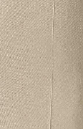 Женские шорты BOSS бежевого цвета, арт. 50424486 | Фото 5