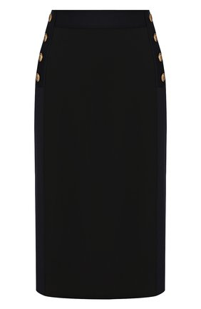 Женская юбка GIVENCHY синего цвета, арт. BW40CW4Z6G | Фото 1