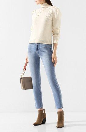 Женские джинсы PAIGE голубого цвета, арт. 5714F72-7596 | Фото 2