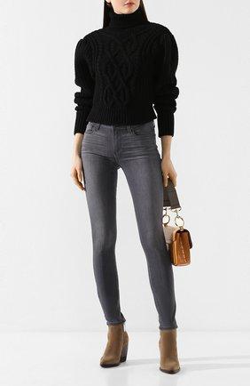 Женские джинсы PAIGE серого цвета, арт. 1394743-7625 | Фото 2