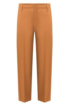 Женские хлопковые брюки FORTE_FORTE хаки цвета, арт. 7017 | Фото 1