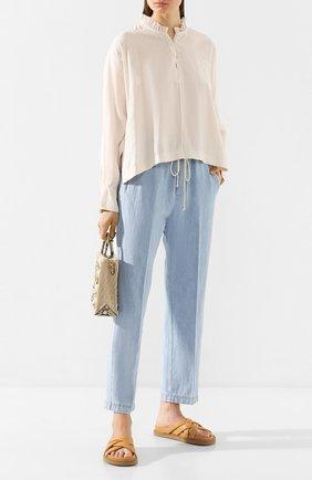 Женские джинсы FORTE_FORTE голубого цвета, арт. 7028 | Фото 2