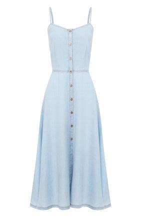 Женское платье FORTE_FORTE голубого цвета, арт. 7036 | Фото 1