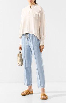 Женская блузка FORTE_FORTE кремвого цвета, арт. 7040 | Фото 2