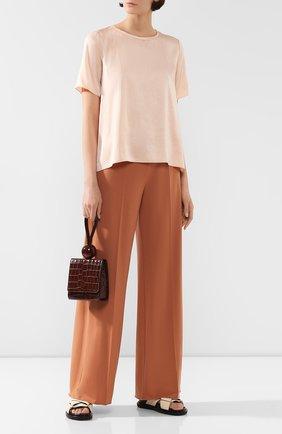 Женская топ FORTE_FORTE оранжевого цвета, арт. 7050 | Фото 2