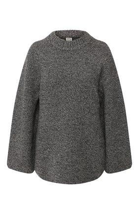 Женский шерстяной свитер TOTÊME темно-серого цвета, арт. P0MY 201-508-759 | Фото 1