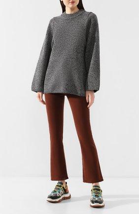 Женский шерстяной свитер TOTÊME темно-серого цвета, арт. P0MY 201-508-759 | Фото 2