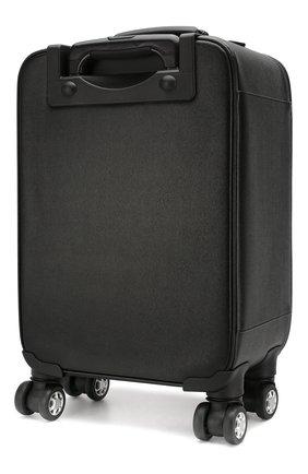 Мужской кожаный чемодан CANALI черного цвета, арт. P325408/NA00053 | Фото 2