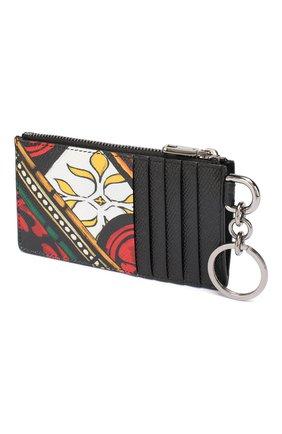 Мужской кожаный футляр для кредитных карт DOLCE & GABBANA разноцветного цвета, арт. BP2524/AZ657 | Фото 2