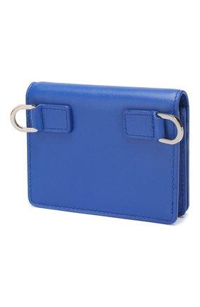 Мужской кожаное портмоне DOLCE & GABBANA синего цвета, арт. BP2591/AJ802 | Фото 2