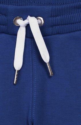 Детские джоггеры GIVENCHY голубого цвета, арт. H04065 | Фото 3